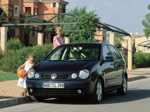 Фото автомобиля Volkswagen Polo 4 поколение, ракурс: 45