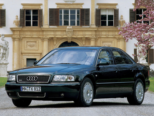 Фото автомобиля Audi A8 D2/4D [рестайлинг], ракурс: 45