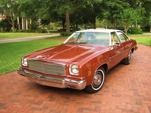 Фото автомобиля Chevrolet Chevelle 3 поколение [рестайлинг], ракурс: 45
