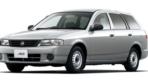 Фото автомобиля Nissan AD Y11 [рестайлинг], ракурс: 45 цвет: серебряный