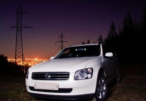 Фото автомобиля Nissan Stagea M35, ракурс: 45