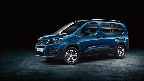 Фото автомобиля Peugeot Rifter 1 поколение, ракурс: 45 цвет: синий