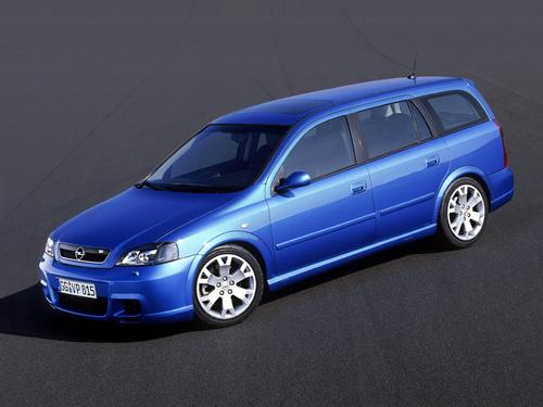 Фото автомобиля Opel Astra G, ракурс: 45