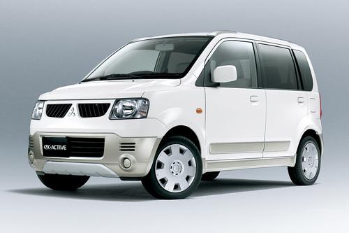 Фото автомобиля Mitsubishi eK H81W, ракурс: 45 цвет: белый