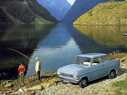 Фото автомобиля Opel Kadett A, ракурс: 45