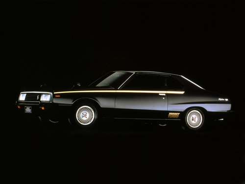 Фото автомобиля Nissan Skyline C210, ракурс: 45