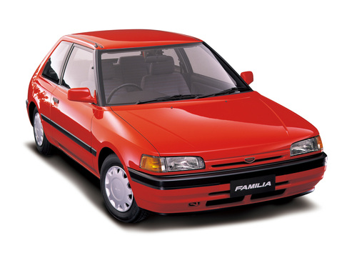Фото автомобиля Mazda Familia BG, ракурс: 315