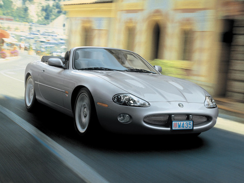 Фото автомобиля Jaguar XK Х100 [рестайлинг], ракурс: 45