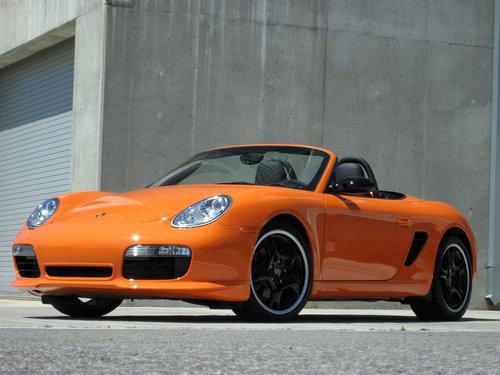 Фото автомобиля Porsche Boxster 987, ракурс: 45