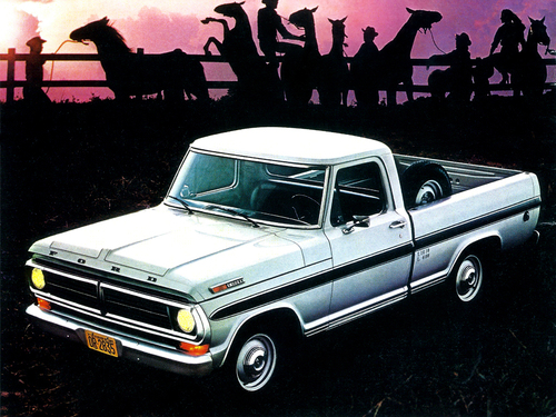 Фото автомобиля Ford F-Series 7 поколение, ракурс: 45