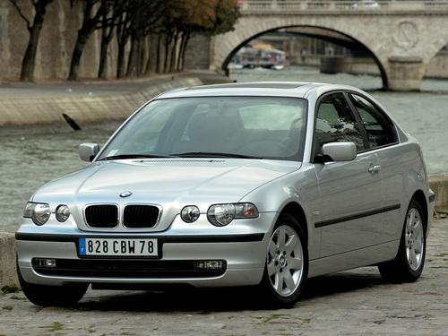 Фото автомобиля BMW 3 серия E46, ракурс: 45