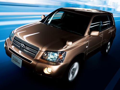 Фото автомобиля Toyota Kluger XU20 [рестайлинг], ракурс: 45