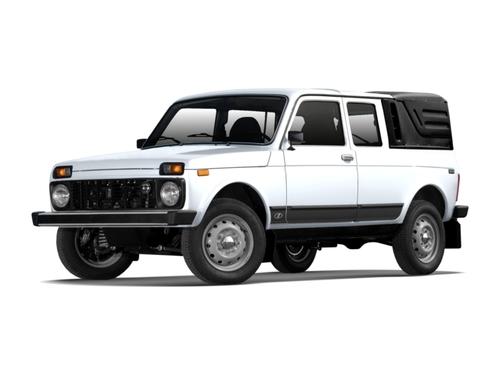 Фото автомобиля ВАЗ (Lada) 4x4 1 поколение [2-й рестайлинг], ракурс: 45 цвет: белый
