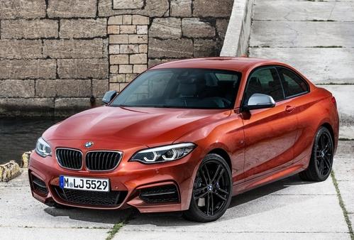 Фото автомобиля BMW 2 серия F22/F23 [рестайлинг], ракурс: 45 цвет: оранжевый