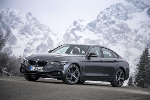 Фото автомобиля BMW 4 серия F32/F33/F36 [рестайлинг], ракурс: 45 цвет: серый