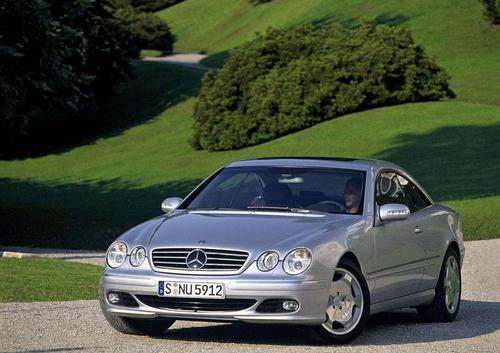 Фото автомобиля Mercedes-Benz CL-Класс C215 [рестайлинг], ракурс: 45
