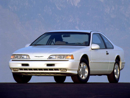Фото автомобиля Ford Thunderbird 10 поколение, ракурс: 45