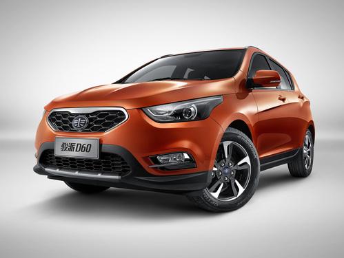 Фото автомобиля FAW D60 1 поколение, ракурс: 45 цвет: оранжевый