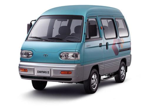 Фото автомобиля Daewoo Damas 1 поколение [рестайлинг], ракурс: 45