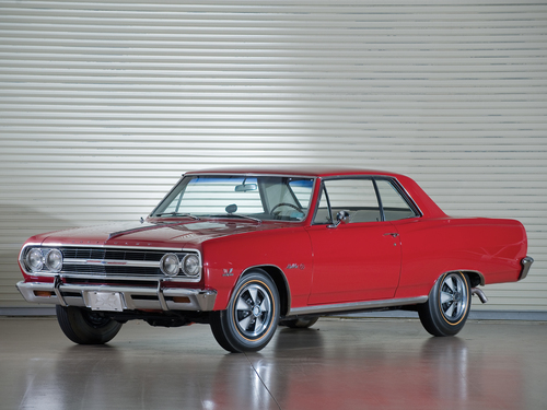 Фото автомобиля Chevrolet Chevelle 1 поколение [рестайлинг], ракурс: 45