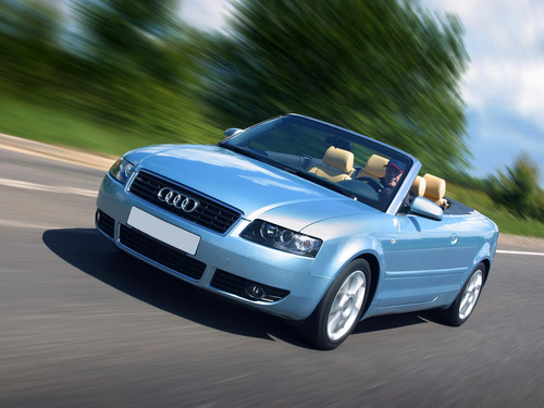 Фото автомобиля Audi A4 B6, ракурс: 45