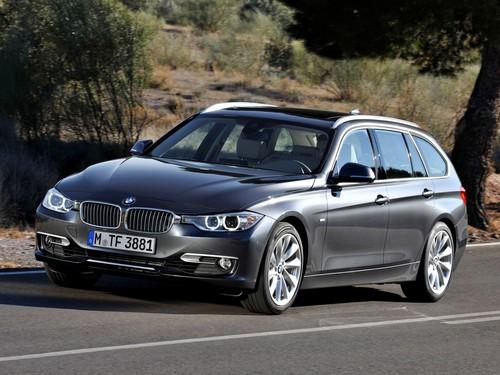 Фото автомобиля BMW 3 серия F30/F31/F34, ракурс: 45 цвет: серый