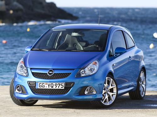 Фото автомобиля Opel Corsa D, ракурс: 45