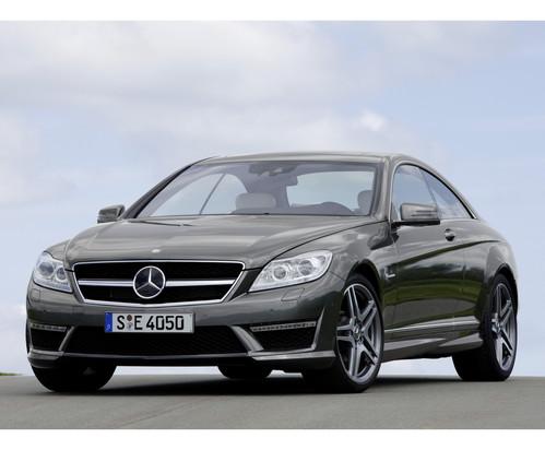 Фото автомобиля Mercedes-Benz CL-Класс C216 [рестайлинг], ракурс: 45 цвет: серый