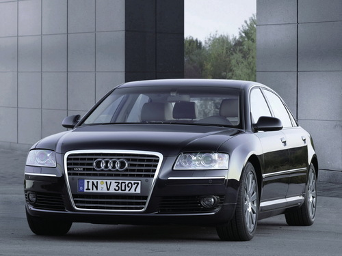 Фото автомобиля Audi A8 D3/4E [рестайлинг], ракурс: 45