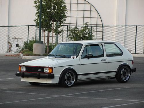 Фото автомобиля Volkswagen Rabbit 1 поколение [рестайлинг], ракурс: 45