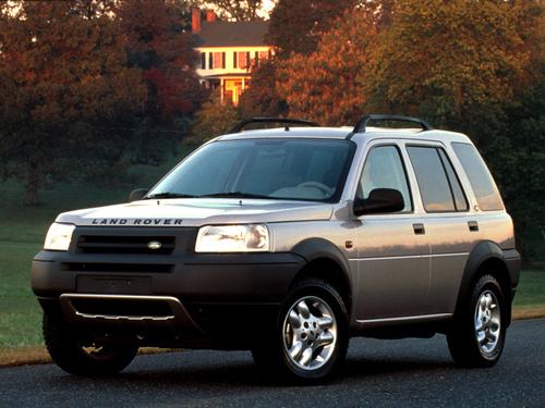 Фото автомобиля Land Rover Freelander 1 поколение, ракурс: 45 цвет: серебряный