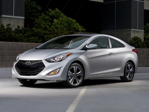 Фото автомобиля Hyundai Elantra MD, ракурс: 45