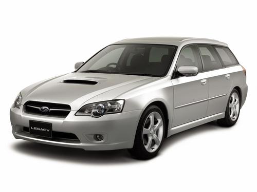 Фото автомобиля Subaru Legacy 4 поколение, ракурс: 45