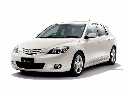 Фото автомобиля Mazda Axela BK, ракурс: 45
