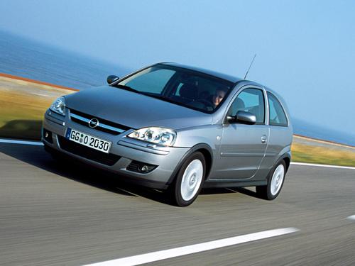 Фото автомобиля Opel Corsa C [рестайлинг], ракурс: 45