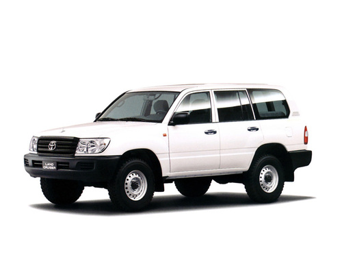 Фото автомобиля Toyota Land Cruiser J100 [2-й рестайлинг], ракурс: 45