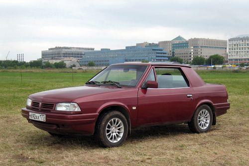Фото автомобиля Москвич Дуэт 1 поколение, ракурс: 45 цвет: бордовый