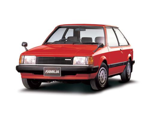Фото автомобиля Mazda Familia BD, ракурс: 45