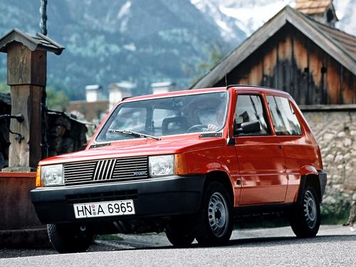 Фото автомобиля Fiat Panda 1 поколение, ракурс: 45