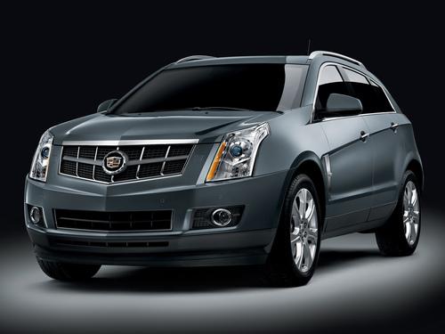 Фото автомобиля Cadillac SRX 2 поколение, ракурс: 45