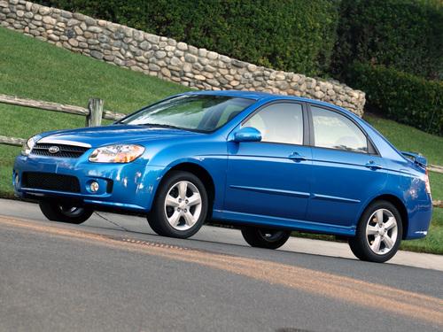 Фото автомобиля Kia Spectra 2 поколение [рестайлинг], ракурс: 45
