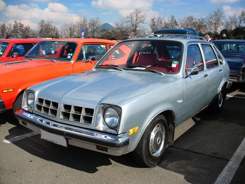 Фото автомобиля Chevrolet Chevette 1 поколение [рестайлинг], ракурс: 45