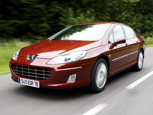 Фото автомобиля Peugeot 407 1 поколение [рестайлинг], ракурс: 45