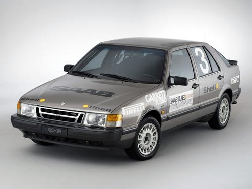 Фото автомобиля Saab 9000 1 поколение, ракурс: 45