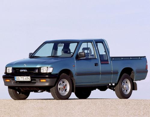 Фото автомобиля Opel Campo 1 поколение [рестайлинг], ракурс: 45