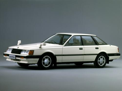 Фото автомобиля Nissan Leopard F30, ракурс: 45