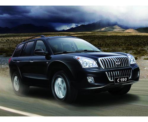 Фото автомобиля ТагАЗ C190 1 поколение, ракурс: 315 цвет: черный