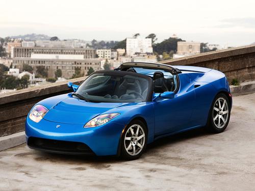 Фото автомобиля Tesla Roadster 1 поколение, ракурс: 45