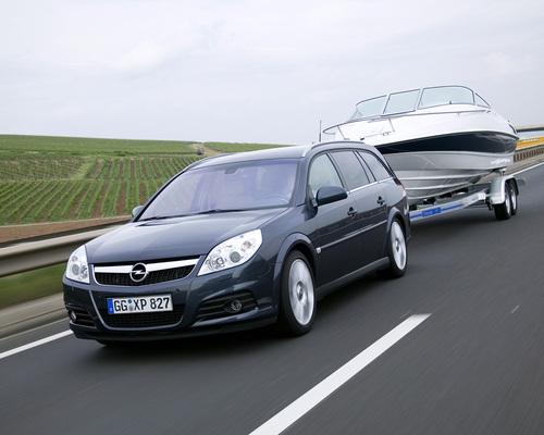 Фото автомобиля Opel Vectra C [рестайлинг], ракурс: 45