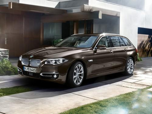 Фото автомобиля BMW 5 серия F07/F10/F11 [рестайлинг], ракурс: 45 цвет: коричневый